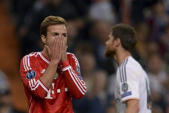 La oportunidad de Götze fue la más clara para un Bayern que ahora necesi...