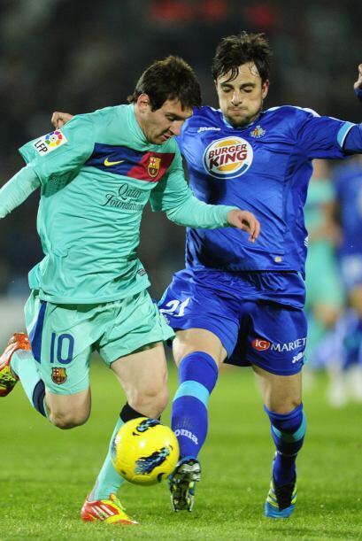 Messi estuvo muy bien controlado durante todo el encuentro.