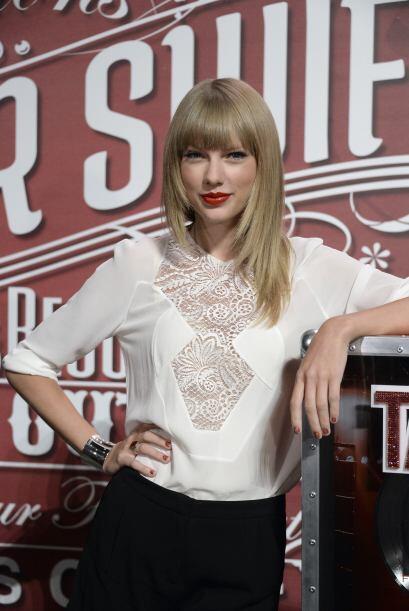 Taylor Swift todo el tiempo luce encantadora, y esta vez no fue la excep...