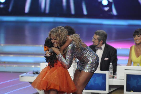 Al final, gracias a su buena interpretación, Kenia fue la ganadora del p...