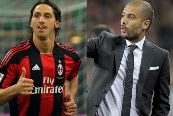 Vaya dimes y diretes que se dieron con la salida de Zlatan Ibrahimovic d...
