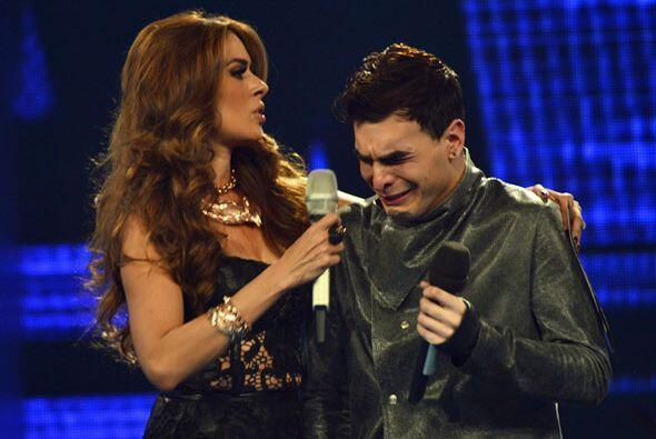 Le ganaron las lágrimas.