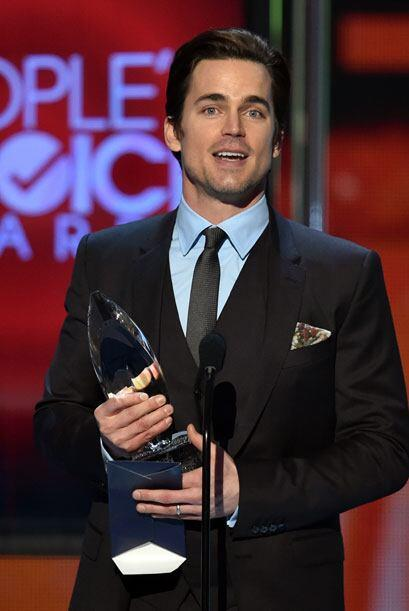 Matt Bomer estaba feliz de obtener el People's Choice durante la tempora...