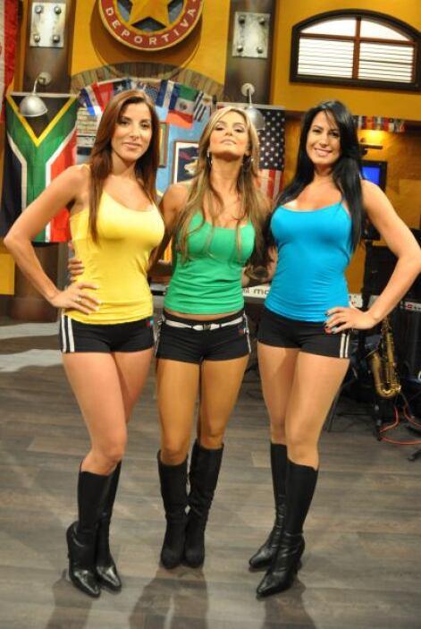 Este es el nuevo equipo de Senadoras de la República Deportiva: Natalia,...