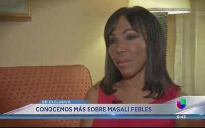 Magali Febles tuvo una infancia difícil en República Dominicana