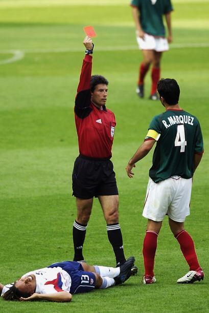 En el Mundial de 2002 entre México y Estados Unidos, todo indicab...