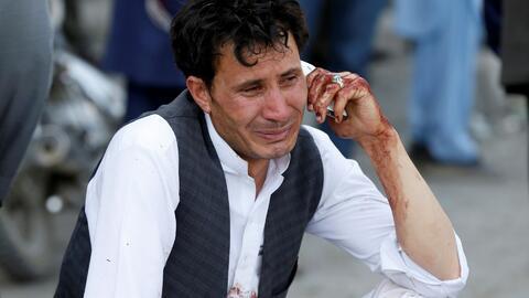Al menos 80 muertos en un ataque contra manifestantes en Kabul