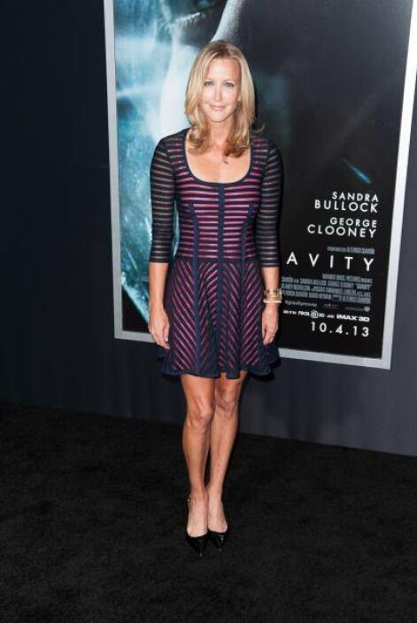 La conductora de televisión Lara Spencer llevó uno de los vestidos más b...