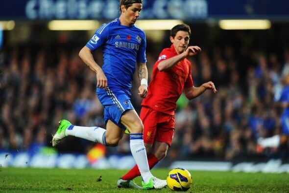 'Blues' y 'Reds' encaraban en Stamford Bridge uno de los partidos m&aacu...