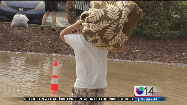 Emiten alerta en San José por aguas contaminadas tras inundaciones
