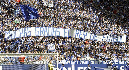 La gente dejó bien claro que Raúl será recordado po...