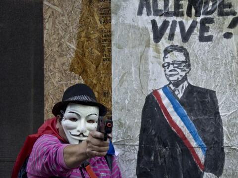 Miles de chilenos se manifestaron este domingo en las principales ciudad...