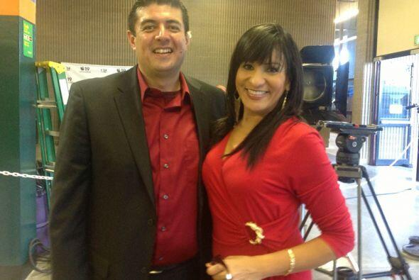 Maribel López y Gustavo Ortiz  se unieron a nuestro evento de donación d...