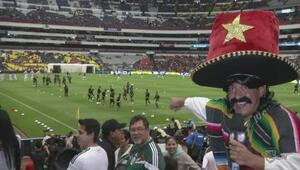 Kevin Arnulfo estuvo en el México vs El Salvador