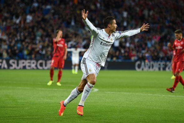 Ronaldo se levantaba como la figura del encuentro con el doblete consegu...