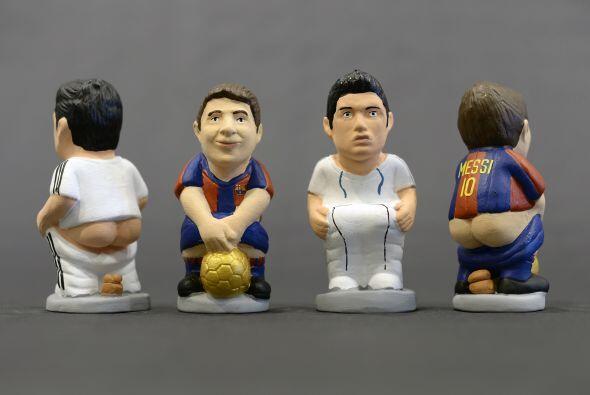 """Candidatos al """"Balón de Oro' y a 'Caganer' del año también, Lionel Messi..."""