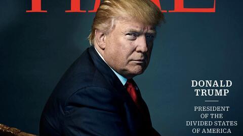"""Trump, el """"presidente de los Estados Divididos de América"""" es elegido co..."""