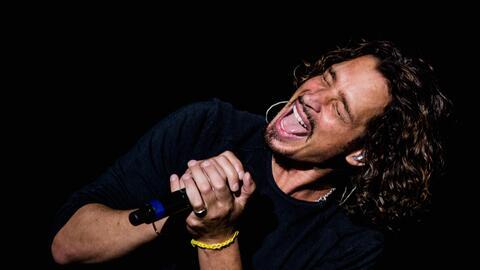Chris Cornell, vocalista de Soundgarden, en Lollapalooza 2014.