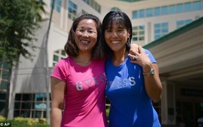 Hermanas huérfanas se reencuentran en hospital de FL