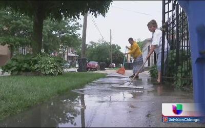 Calvario para los afectados por las lluvias