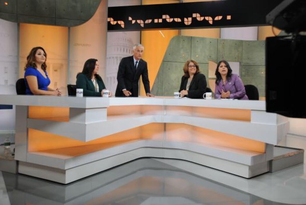 Jorge Ramos presenta un debate en 'Al Punto' 8d5a600ad2f94ea6aba052432fc...