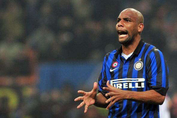 El brasileño Maicon del Inter de Milán es el favorito del...