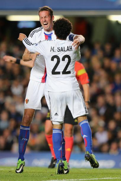 Al minuto 71 Mohamed Salah logró el empate, que ya era un resultado ines...