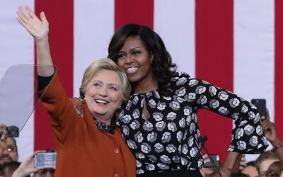 Michelle Obama se ha convertido en la portavoz más eficaz de Hill...