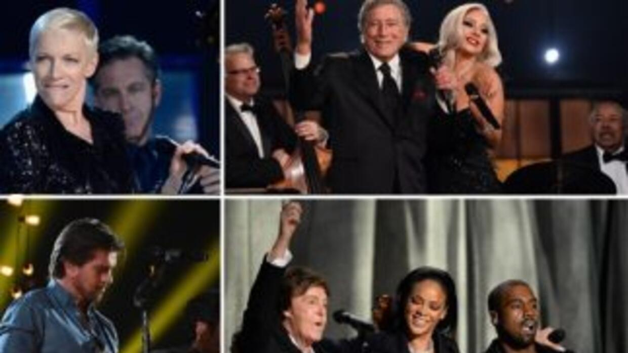 Annie Lennox, Paul McCartney, Lady Gaga, Tony Bennet, Juanes, Beyoncé y...