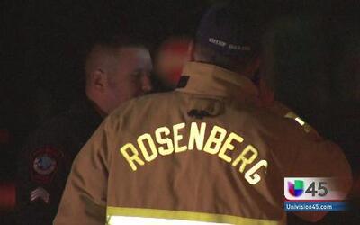 Fuga de gas en Rosenberg