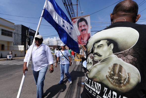 Los militares lo derrocaron en junio de 2009 y expulsaron a Costa Rica.