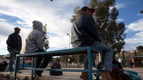 Un poblado en la frontera de México, arruinado por la drástica caída del...