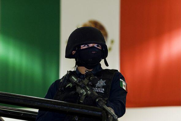 En México se sabe de cuatro mujeres jefas de policía en el...