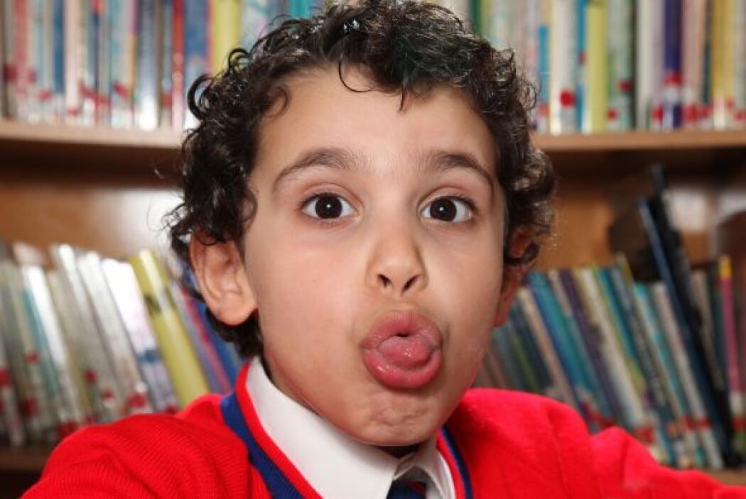 Sherwyn entró a la escuela a los dos años de edad y a los tres fue acept...