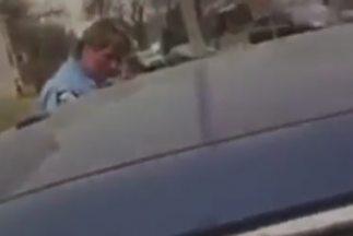 Imagen captada del video de la denuncia.