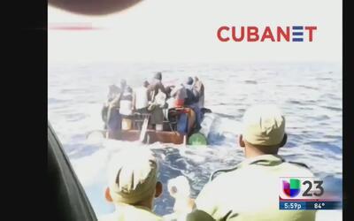 Video muestra a guardia costera cubana persiguiendo a balseros