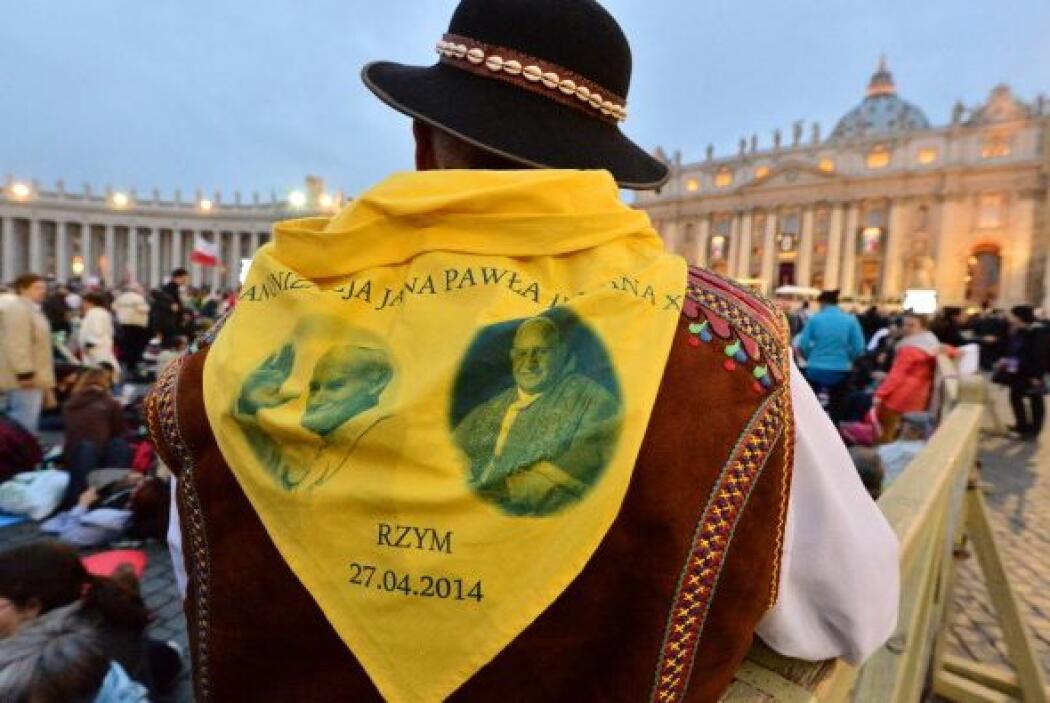 El color amarillo fue el predilecto de los peregrinos.