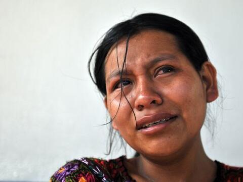 El cuerpo de Manuel Jaminez llegó a Guatemala procedente de Los A...