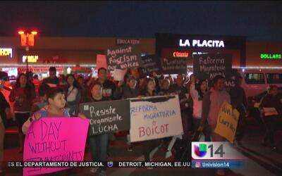 """Activistas afirman que """"Un Día Sin Inmigrantes"""" es solo el principio"""