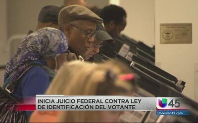 """Inicia juicio contra la ley del """"Voter ID"""""""