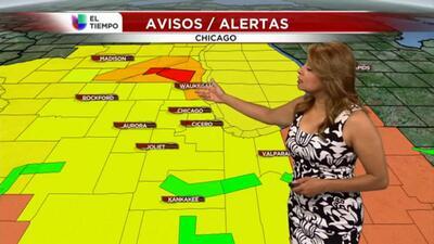 Alerta de tornados en el norte de Illinois