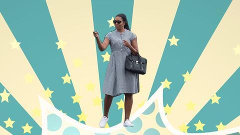 Así lució Michelle Obama al final de sus vacaciones usando...