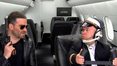 Chiquito pero picoso: Carlitos 'El Productor' ahora nos salió piloto