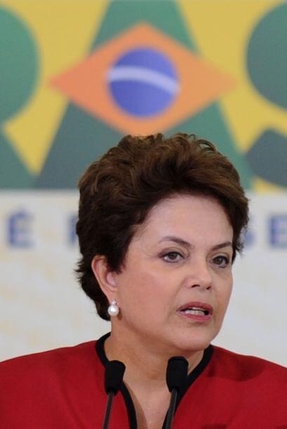 La presidenta brasileña, Dilma Rousseff, también aparece en la lista del...