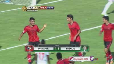 La Selección Sub 17 de México goleó por 3 a 1 a Panamá