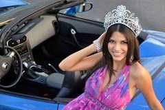 Al volante con Nuestra Belleza Latina