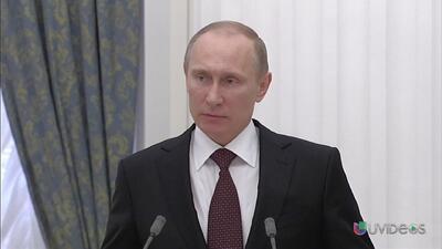 Vladimir Putin desafía a Occidente