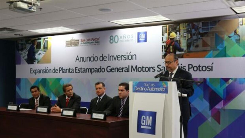 General Motors produce el Aveo y la Trax en San Luis Potosí.