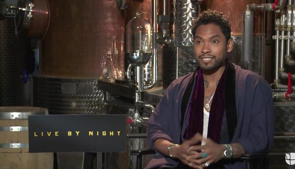 El cantante Miguel hace su debut como actor en 'Live by Night'