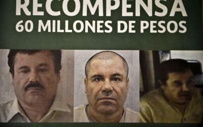 Así se le buscaba mientras estuvo fugitivo. Joaquín Guzmán Loera llegó a...
